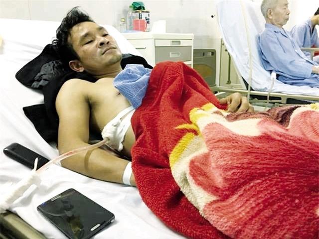 Kết quả hình ảnh cho Tâm sự bất ngờ của chàng trai bị đâm trọng thương vì cứu người tai nạn