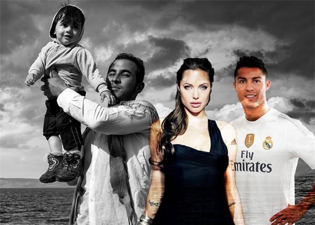 Ronaldo sắp đóng phim cùng Angelina Jolie - Ảnh 1.