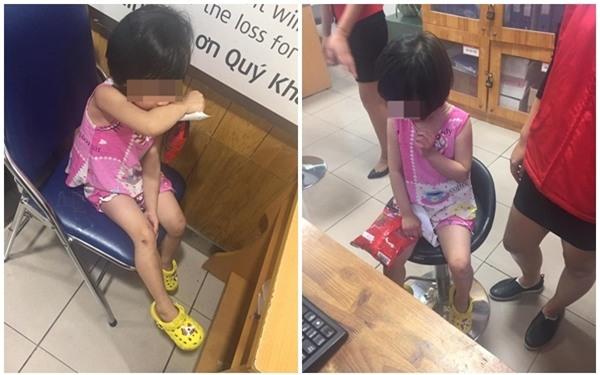 Hà Nội: Bé gái bị mẹ mắng chửi, dùng túi đánh vào mặt ngay siêu thị vì làm mất một gói kẹo - Ảnh 4.