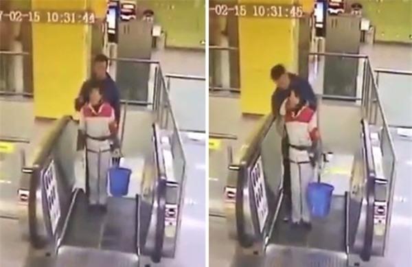Trung Quốc: Kẻ bệnh hoạn chuyên cưỡng hôn phụ nữ lớn tuổi tại sân ga - Ảnh 1.