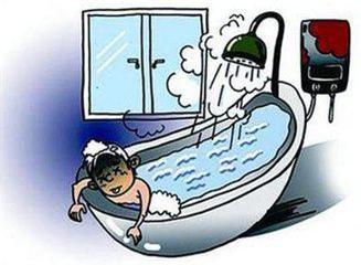 Con vừa tắm xong, 3 người trong gia đình phải nhập viện cấp cứu - Ảnh 1.