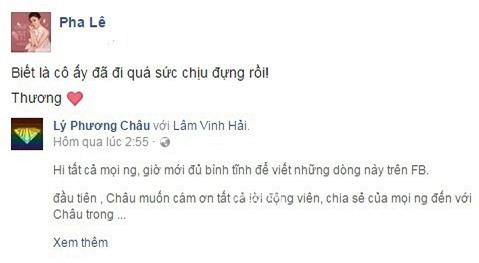 vợ cũ Lâm Vinh Hải, Lâm Vinh Hải, Lâm Vinh Hải và Linh Chi, Linh Chi