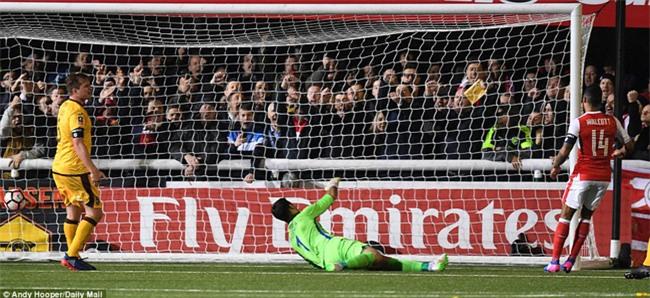 Vượt qua đội bóng nghiệp dư, Arsenal thẳng tiến vào tứ kết FA Cup - Ảnh 12.