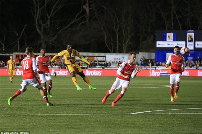Vượt qua đội bóng nghiệp dư, Arsenal thẳng tiến vào tứ kết FA Cup - Ảnh 16.