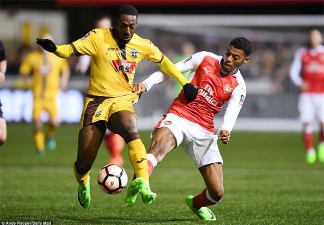 Vượt qua đội bóng nghiệp dư, Arsenal thẳng tiến vào tứ kết FA Cup - Ảnh 4.