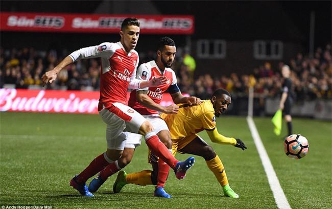 Vượt qua đội bóng nghiệp dư, Arsenal thẳng tiến vào tứ kết FA Cup - Ảnh 5.
