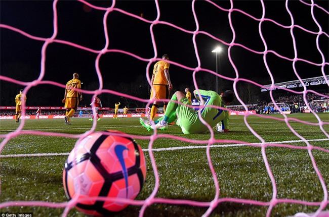 Vượt qua đội bóng nghiệp dư, Arsenal thẳng tiến vào tứ kết FA Cup - Ảnh 6.