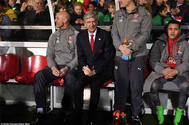 Vượt qua đội bóng nghiệp dư, Arsenal thẳng tiến vào tứ kết FA Cup - Ảnh 11.