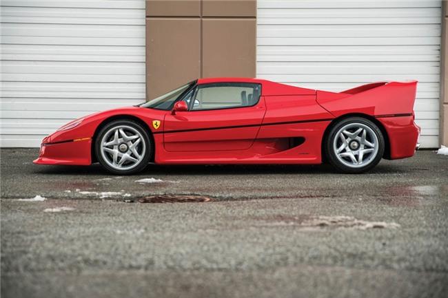 Sieu xe hiem Ferrari F50 cua Mike Tyson duoc rao ban hinh anh 5