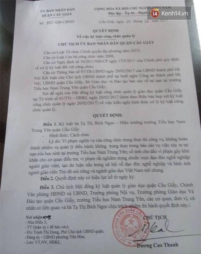 Hiệu trưởng trường Nam Trung Yên đi cấp cứu nên vắng mặt trong cuộc họp kỷ luật - Ảnh 2.