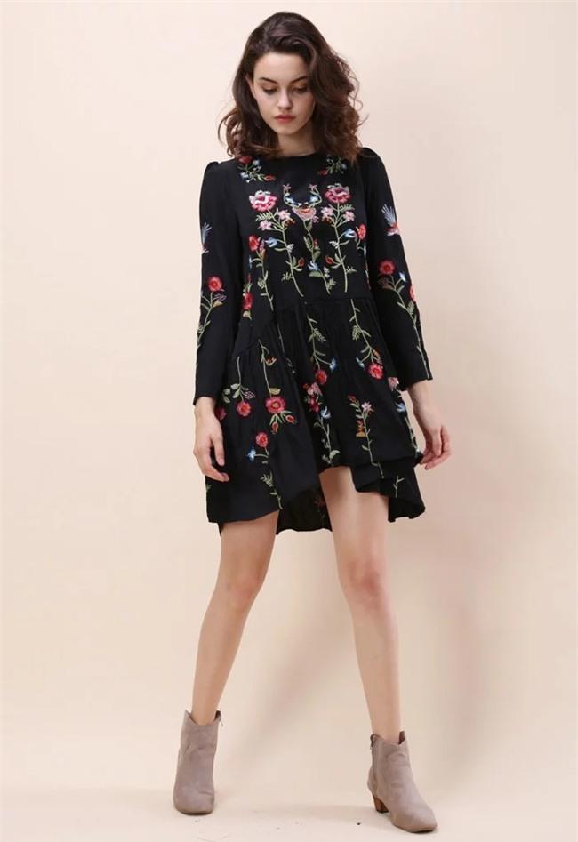 Váy áo họa tiết thêu: Đâu mới là kiểu dáng đáng sắm nhất cho Xuân/Hè 2017 này - Ảnh 7.