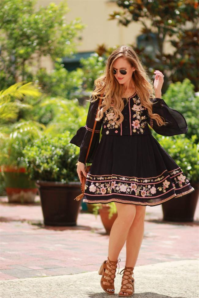 Váy áo họa tiết thêu: Đâu mới là kiểu dáng đáng sắm nhất cho Xuân/Hè 2017 này - Ảnh 8.