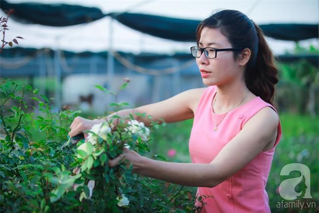 Lạc lối giữa vườn hồng rộng đến 5000m² của cô gái 9x ở Hà Nội - Ảnh 1.