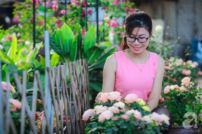 Lạc lối giữa vườn hồng rộng đến 5000m² của cô gái 9x ở Hà Nội - Ảnh 6.