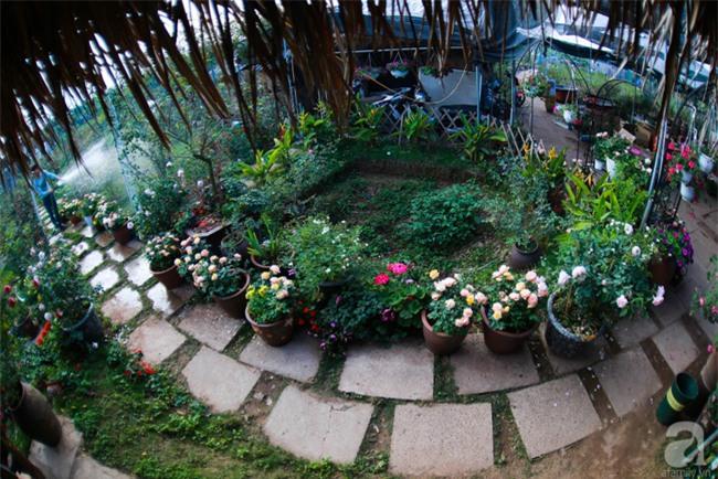 Lạc lối giữa vườn hồng rộng đến 5000m² của cô gái 9x ở Hà Nội - Ảnh 8.