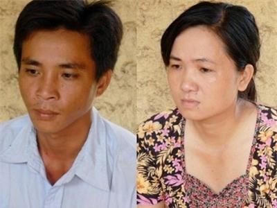 Cặp tình nhân tàn ác Thanh và Thủy tại cơ quan điều tra.