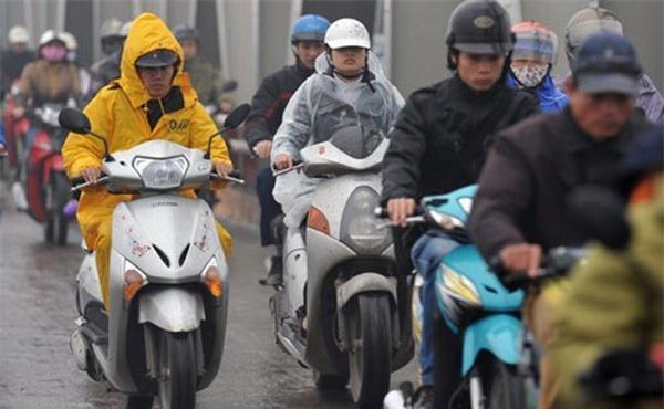 Dự báo thời tiết 23/2: Trưa nay khí lạnh tràn về Hà Nội - Ảnh 1.