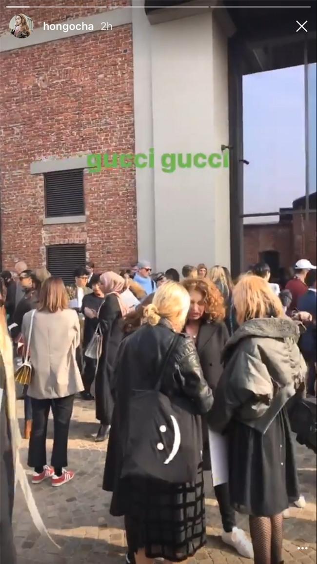 HOT: Hồ Ngọc Hà diện set đồ hàng trăm triệu, dự show Gucci đang khiến dân tình điên đảo vì quá đỉnh - Ảnh 10.