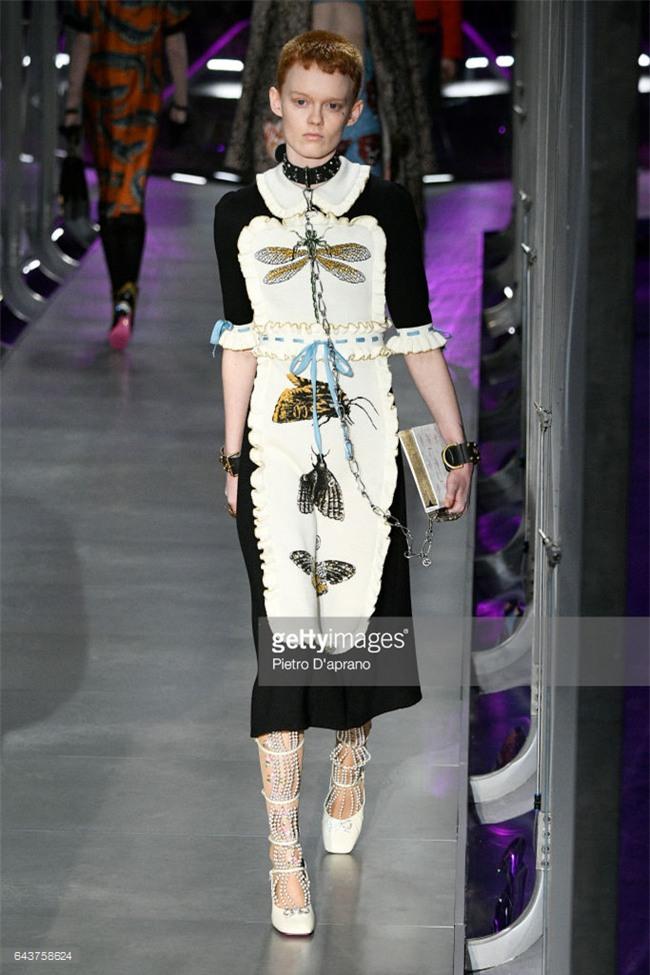 HOT: Hồ Ngọc Hà diện set đồ hàng trăm triệu, dự show Gucci đang khiến dân tình điên đảo vì quá đỉnh - Ảnh 19.