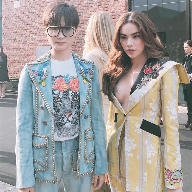 HOT: Hồ Ngọc Hà diện set đồ hàng trăm triệu, dự show Gucci đang khiến dân tình điên đảo vì quá đỉnh - Ảnh 3.
