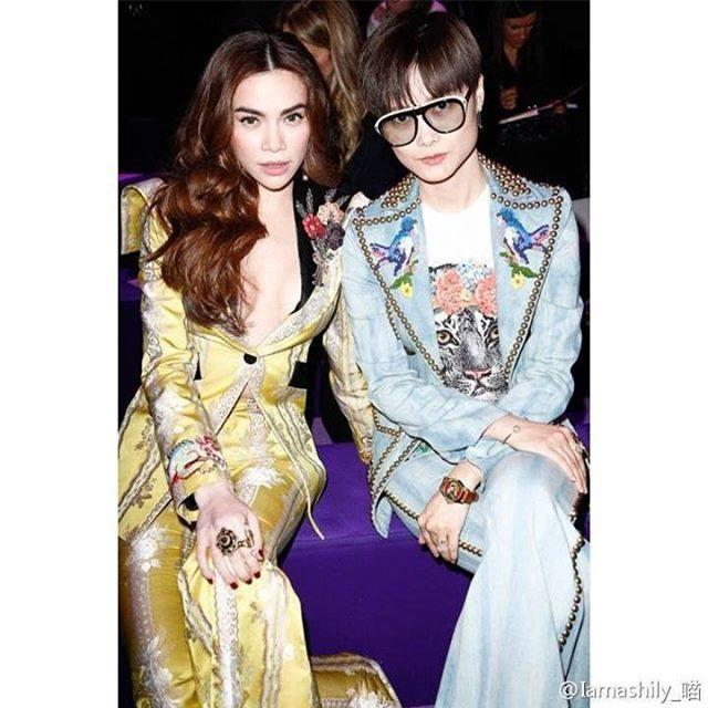 HOT: Hồ Ngọc Hà diện set đồ hàng trăm triệu, dự show Gucci đang khiến dân tình điên đảo vì quá đỉnh - Ảnh 4.