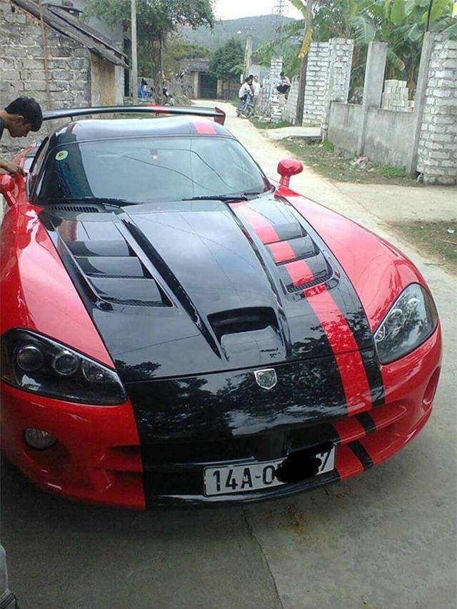 Dodge Viper ACR độc nhất Việt Nam tái xuất trên đường làng - Ảnh 3.