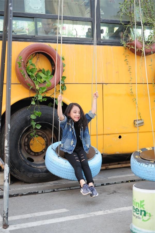 Gặp gỡ mẫu nhí Hà Thành sở hữu gương mặt xinh như Kim Tae Hee - Ảnh 10.