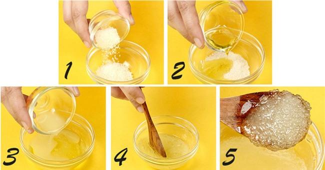 Làm mặt nạ tẩy da chết cho môi bằng những nguyên liệu mà bếp nào cũng có - Ảnh 1.