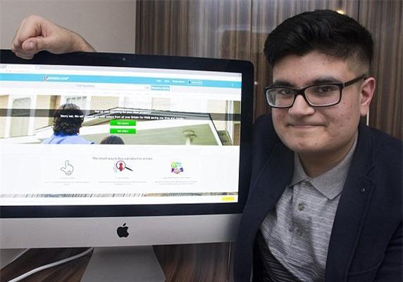 Nam sinh 16 tuổi từ chối bán website giá 5 triệu bảng - 1