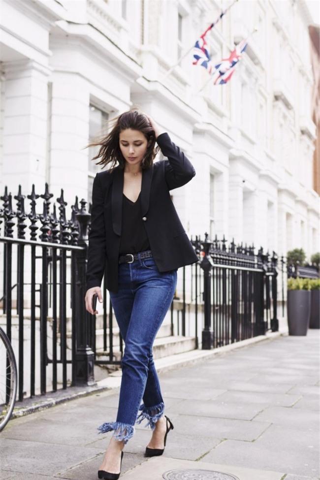 Đổi gió cho trang phục công sở hàng ngày với cặp đôi trời sinh: Quần jeans và áo blazers - Ảnh 10.