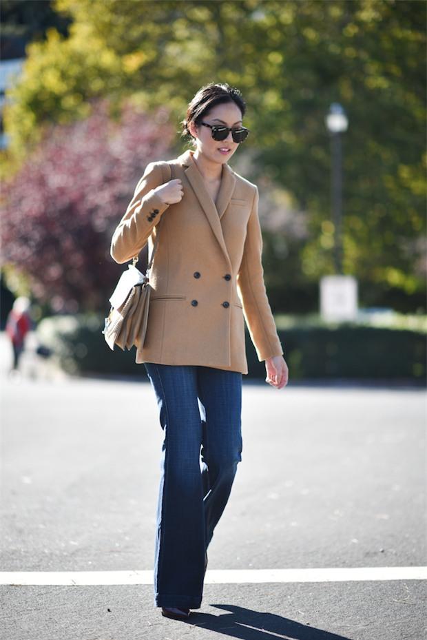 Đổi gió cho trang phục công sở hàng ngày với cặp đôi trời sinh: Quần jeans và áo blazers - Ảnh 11.