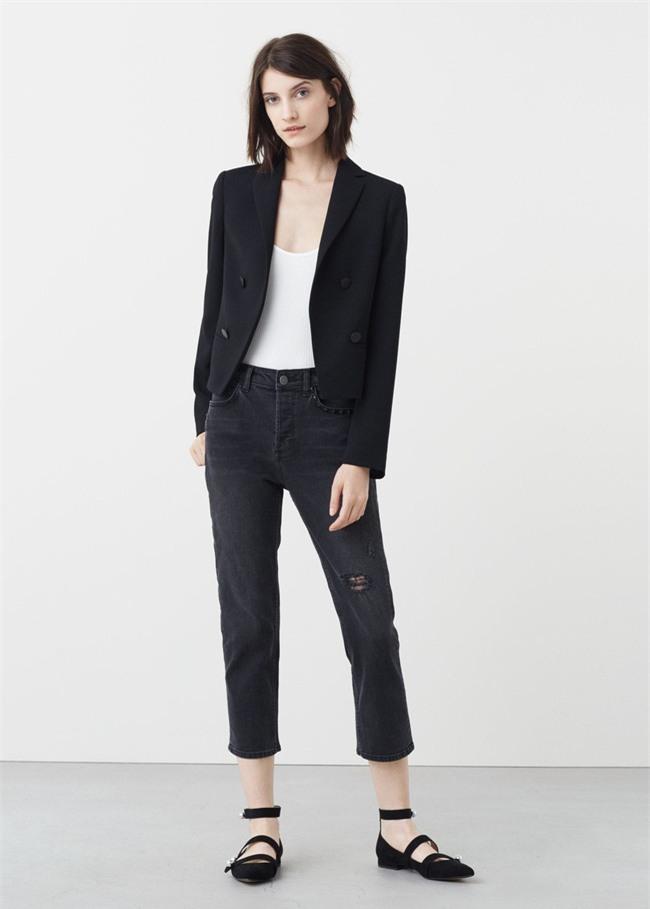 Đổi gió cho trang phục công sở hàng ngày với cặp đôi trời sinh: Quần jeans và áo blazers - Ảnh 8.
