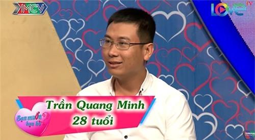 """chang thuy thu doi cuong hon ngay khi duoc mai moi co gai xinh dep o """"ban muon hen ho"""" - 1"""