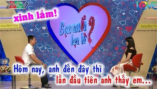 """chang thuy thu doi cuong hon ngay khi duoc mai moi co gai xinh dep o """"ban muon hen ho"""" - 9"""