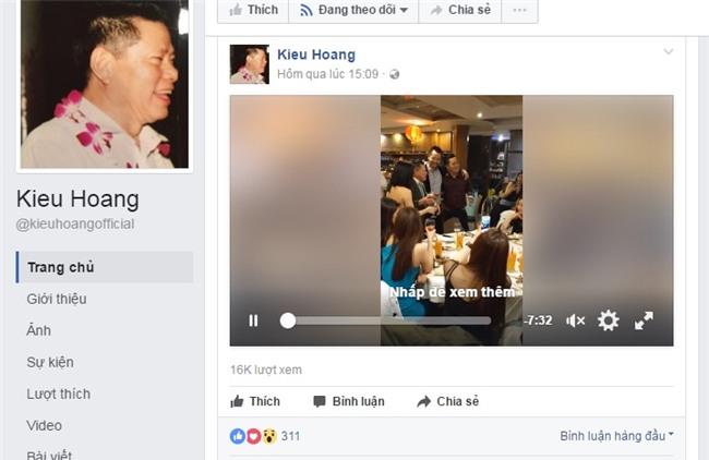 """truoc khi dong facebook, hoang kieu co """"beu rieu"""" ngoc trinh the nay hinh anh 2"""