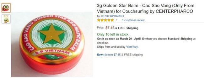 Cao Sao Vàng, rao bán, thương mại điện tử, khách hàng, Amazon, người Việt