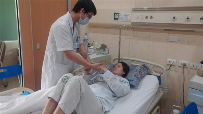 Nguoi phu nu bi dot quy nao nghi do dung thuoc tranh thai hinh anh 1