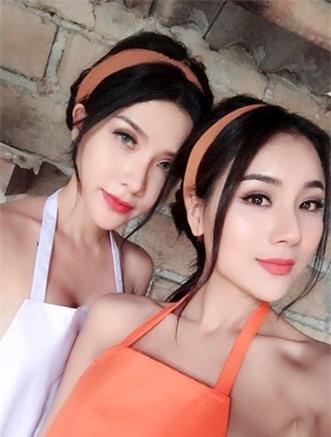 Gai xinh mac ho o 'Tuyet tinh coc' Hai Phong la ai? - Anh 4