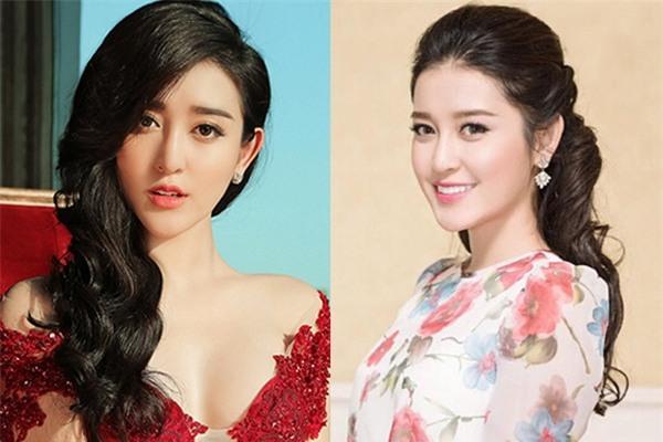 Gương mặt Á hậu Tú Anh, Huyền My trở nên nhọn hoắt, góc cạnh khác hẳn với những đường nét mềm mại thường thấy.