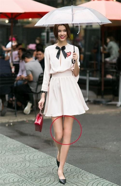 Phi Thanh Vân, Quỳnh Chi, người mẫu Cao Thiên Trang và chiếc đầu gối nhẵn bóng, không tì vết nhờ photoshop.