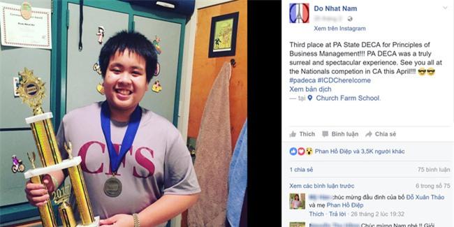 Câu chuyện đáng yêu đằng sau bộ vest bảnh bao lên nhận cúp chiến thắng của Đỗ Nhật Nam - Ảnh 1.