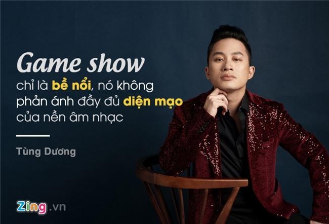 Tung Duong: 'Dung nghi co vai bai hit la lam duoc huan luyen vien' hinh anh 1