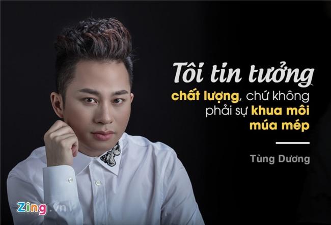 Tung Duong: 'Dung nghi co vai bai hit la lam duoc huan luyen vien' hinh anh 3