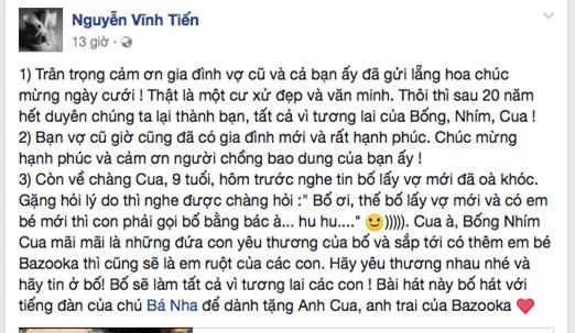 Nguyễn Thiện Nhân, Nguyễn Vĩnh Tiến lấy vợ, vợ 9x của Nguyễn Vĩnh Tiến