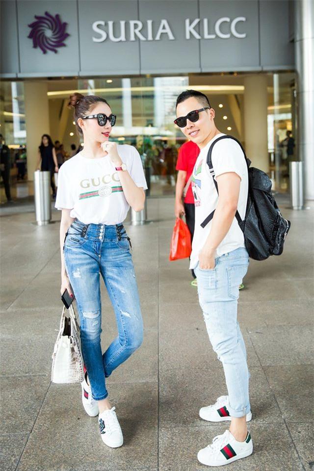 Những chiếc áo phông trị giá hơn chục triệu đồng của người đẹp Việt - Ảnh 7.