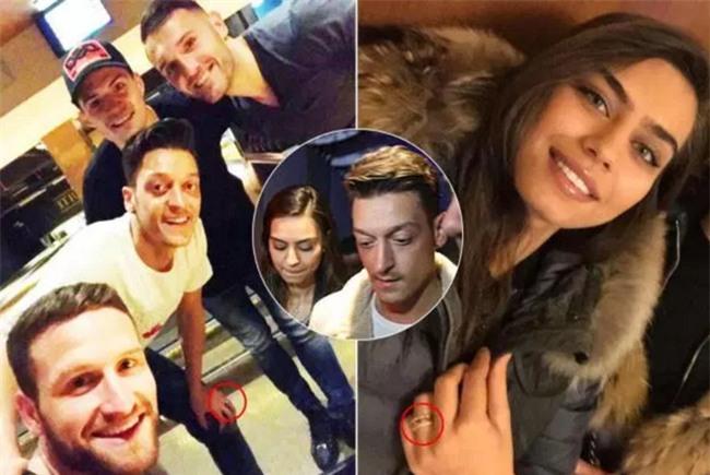 Ozil lộ bí mật đính hôn với Hoa hậu Thổ Nhĩ Kỳ - Ảnh 1.