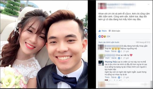 Không thể nghe-nói, nhưng cặp cô dâu chú rể này vẫn thật rạng rỡ, hạnh phúc trong ngày cưới... - Ảnh 1.