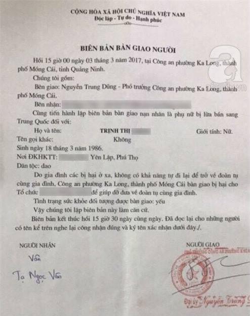 Xót xa cô gái trẻ, nghi bị bán sang Trung Quốc, trốn về nước sau 1 tháng bị nhốt và đánh đập - Ảnh 6.