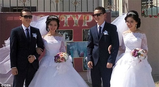 Chị em song sinh cưới chồng cùng ngày, 1 năm sau điều bất ngờ lại xảy ra - Ảnh 1.