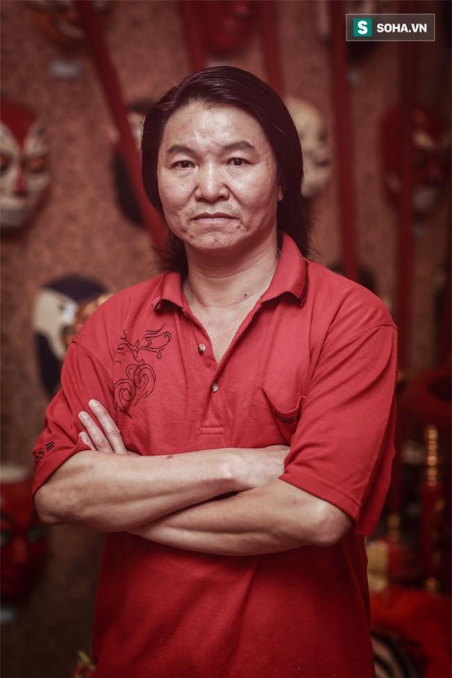 Chân dung nam diễn viên chỉ thoáng nhìn đã thấy sợ của màn ảnh Việt - Ảnh 1.